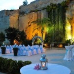 Weddings Malta - Limestone Quarry